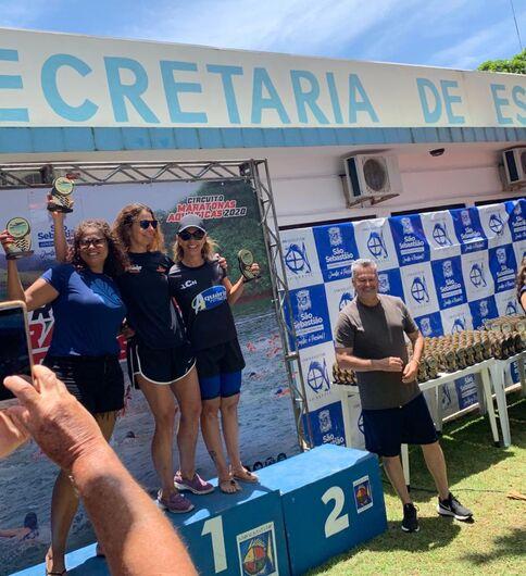 Nadadora ACD da LCN/Aquário Fitness inicia temporada com duas medalhas de prata - Crédito: Divulgação