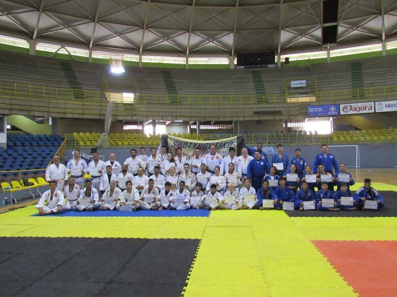 São Carlos recebe treinamento de verão de judô - Crédito: Divulgação