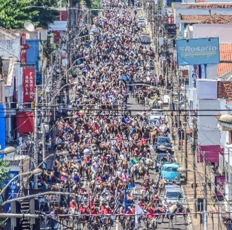 Comitivas da região se mobilizam pelas vítimas de câncer - Crédito: Divulgação