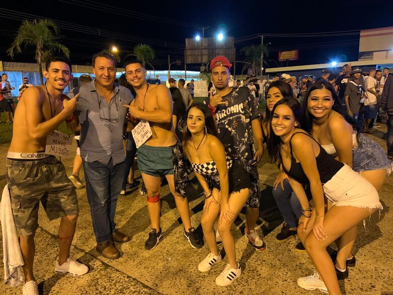 Muita agitação marca o Carnafunk na abertura do Carnaval em São Carlos - Crédito: Divulgação