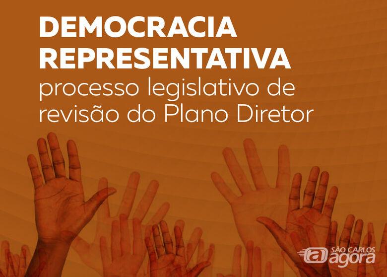 Pesquisa aponta baixa adesão popular na revisão do Plano Diretor de São Carlos - Crédito: Divulgação