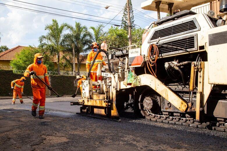 Confira a rua que vai ser recapeada nesta quarta-feira - Crédito: Divulgação