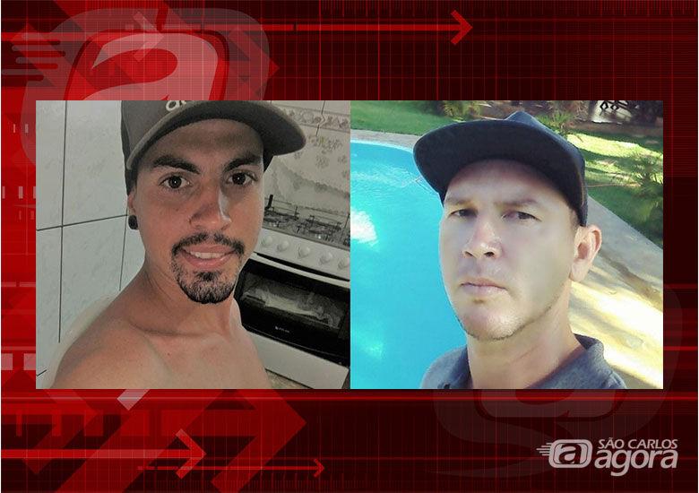 À esquerda, Cauê Kennedy Faitanini e, à direita, Rodrigo Inacio de Menjon - Crédito: Arquivo pessoal