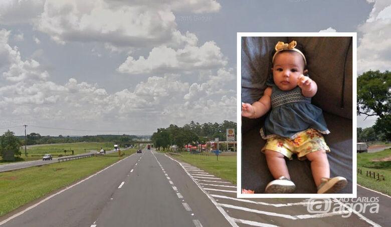 Bebê chegou a ser socorrido por populares, mas não resistiu - Crédito: Arquivo Pessoal