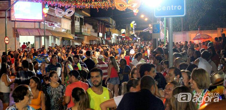 Carnaval em Brotas é um dos mais tradicionais na região - Crédito: Brotas Online