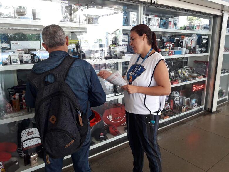 São Carlos realiza atividade na Semana Estadual de Mobilização Social contra o Aedes aegypti -