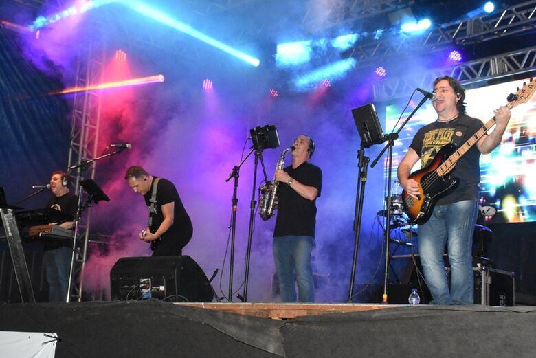 Banda Doce Veneno se apresenta no Teatro de Arena - Crédito: Divulgação