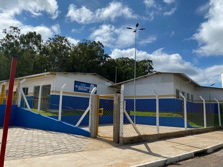 EMEB do Jardim Araucária já está atendendo 190 alunos do 1º ao 5º ano - Crédito: Divulgação