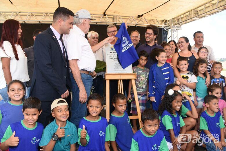 Prefeitura inaugura a maior escola da Rede Municipal de Ensino: EMEB Ulysses Ferreira Picolo - Crédito: Divulgação