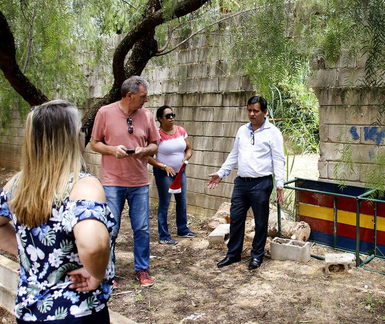 Roselei leva apoio a escolas municipais do Faga e Aracy - Crédito: Divulgação
