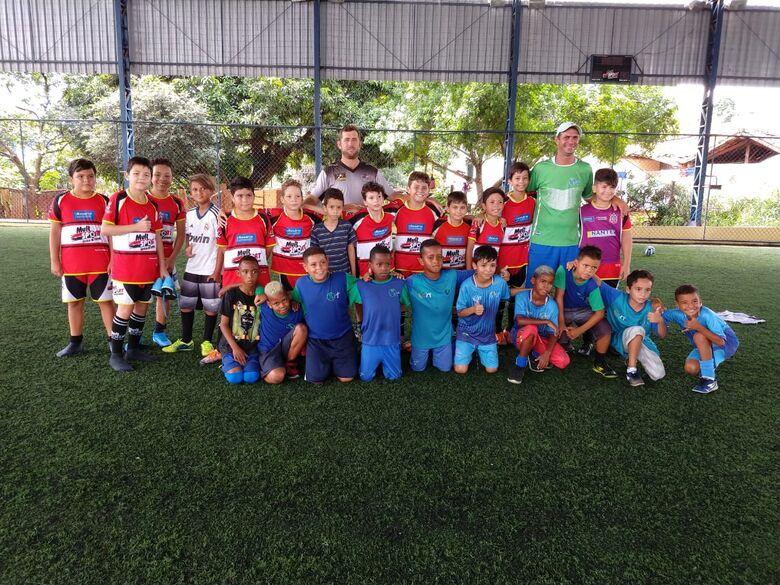 Mult Sport realiza jogos amistosos com ONG Nave Sal da Terra - Crédito: Divulgação