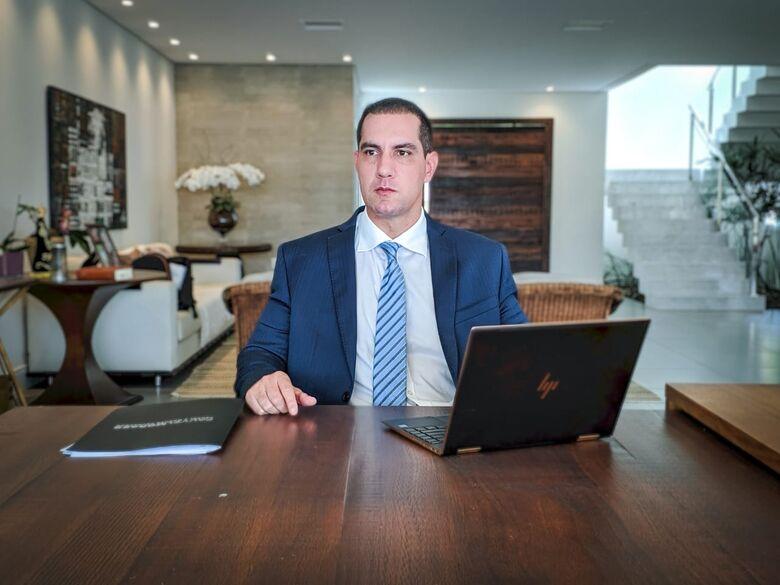 """Advogado Augusto Fauvel de Moraes lança o canal """"Minuto Tributário"""" no Youtube - Crédito: Divulgação"""