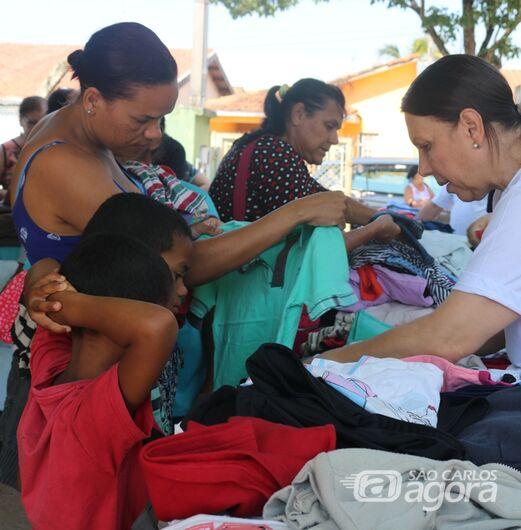 Caminhão itinerante do Fundo Social estará em Água Vermelha nesta sexta-feira - Crédito: Divulgação