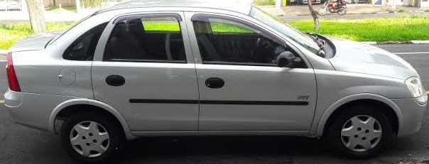 Ladrão furta Corsa no centro e proprietário pede ajuda para localizá-lo - Crédito: Divulgação