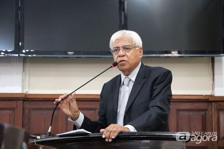 """Azuaite fala durante a sessão plenária da Câmara: """"Brasil é um dos países com menor número de funcionários públicos - Crédito: Divulgação"""