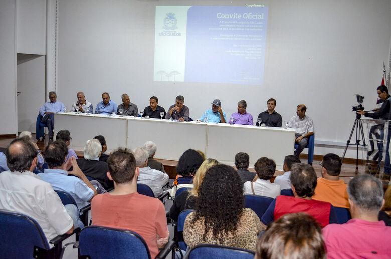 Em reunião agendada por Lucão, Prefeitura anuncia R$ 1,3 milhão para obras emergenciais no Centro - Crédito: Divulgação