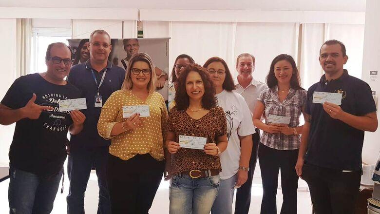 Prefeitura entrega prêmios do Programa Nota Fiscal Legal - Crédito: Divulgação