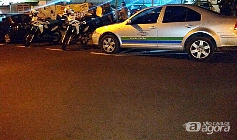Fiscalização da Prefeitura impediu realização de festa irregular de carnaval - Crédito: Divulgação