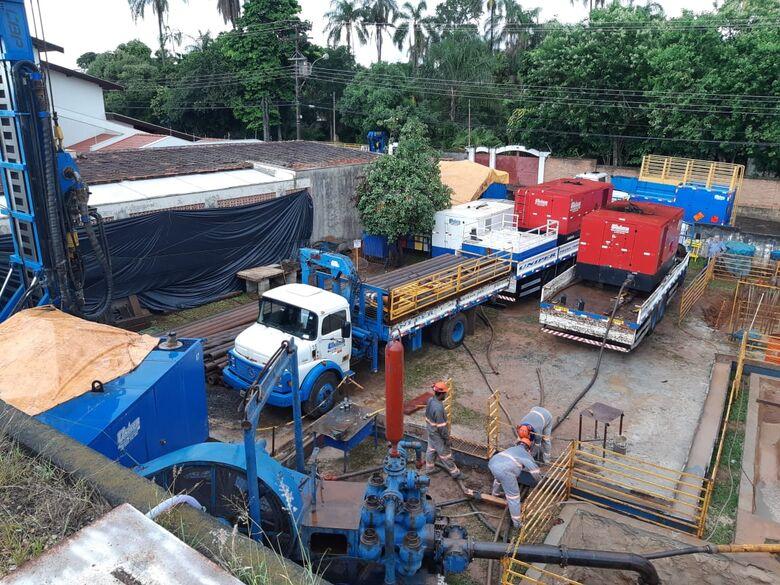 SAAE inicia construção de poço profundo na Vila Nery - Crédito: Divulgação