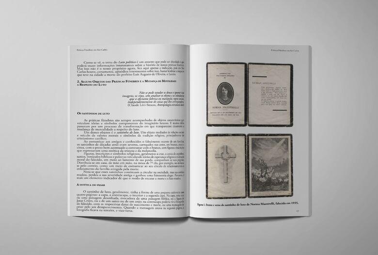 """Fundação Pró-Memória lança livro """"Práticas Fúnebres em São Carlos"""" - Crédito: Divulgação"""