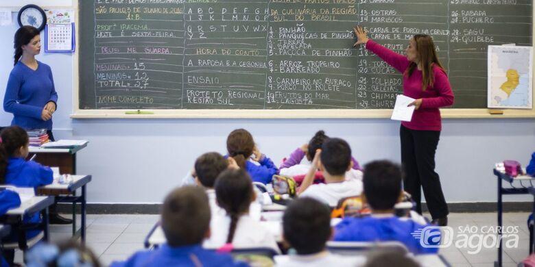 Governo de SP aumenta em até 12,84% salários de professores da rede estadual - Crédito: Divulgação