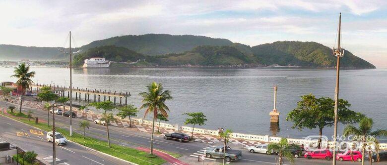 Todas as praias em Santos foram consideradas impróprias para banho segundo a Cetesb - Crédito: Cetesb