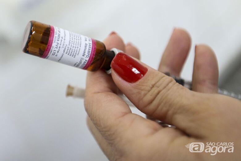 Dia 'D' de vacinação contra o sarampo acontece neste sábado (15) - Crédito: Agência Brasil