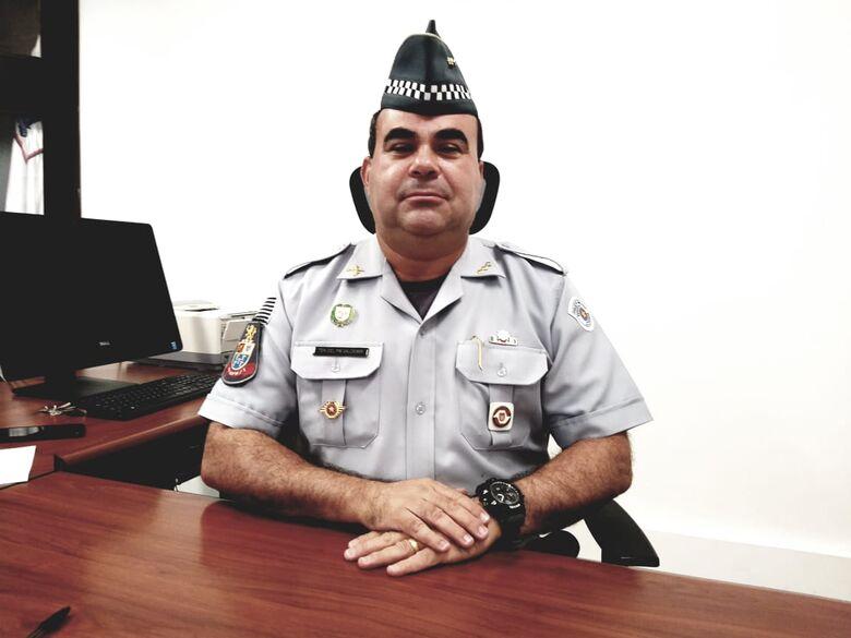 Tenente-coronel Valdemir Guimarães Dias - Crédito: Arquivo SCA