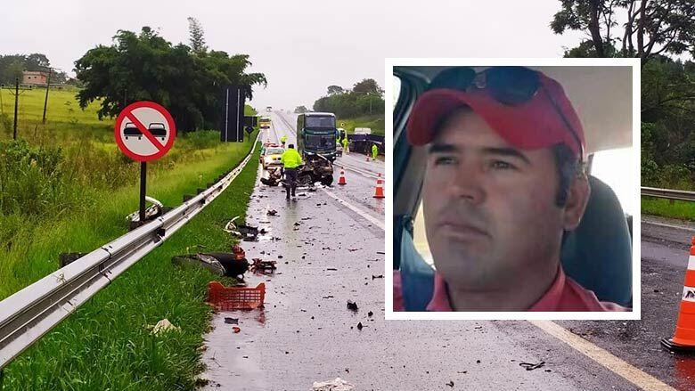 Corpo de motorista que morreu em acidente será sepultado na tarde desta terça-feira em São Carlos - Crédito: Arquivo Pessoal