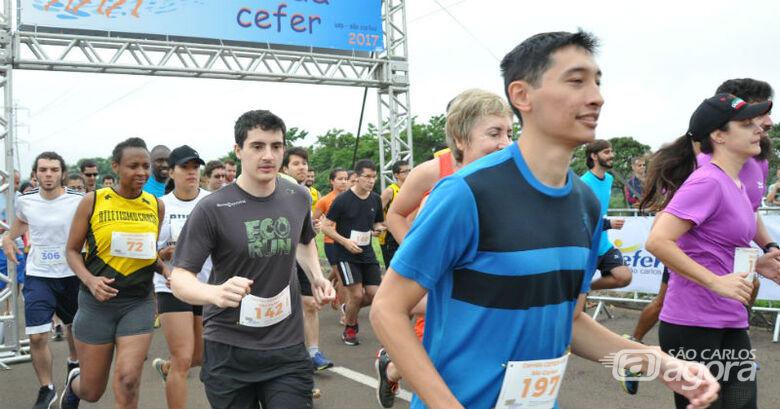 Evento contou com dois níveis de corrida – 3,4 e 6 quilômetros, além da caminhada de 3,4 Km - Crédito: Edmilson Luchesi / PUSP-SC