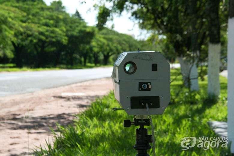 Confira a localização dos radares nesta quarta-feira - Crédito: Arquivo SCA