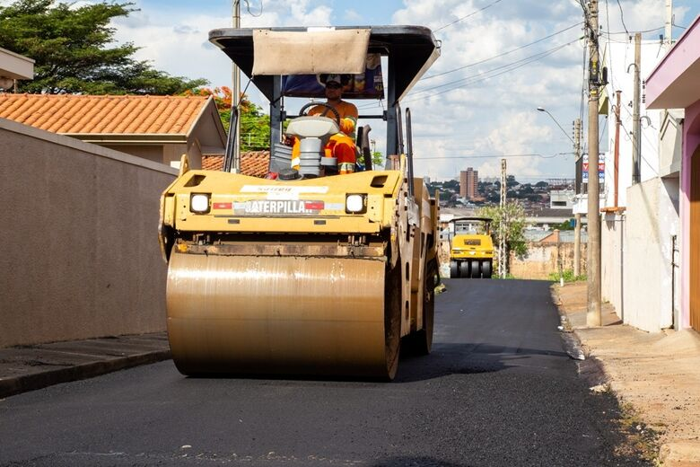 Confira quais ruas serão recapeadas nesta segunda-feira -