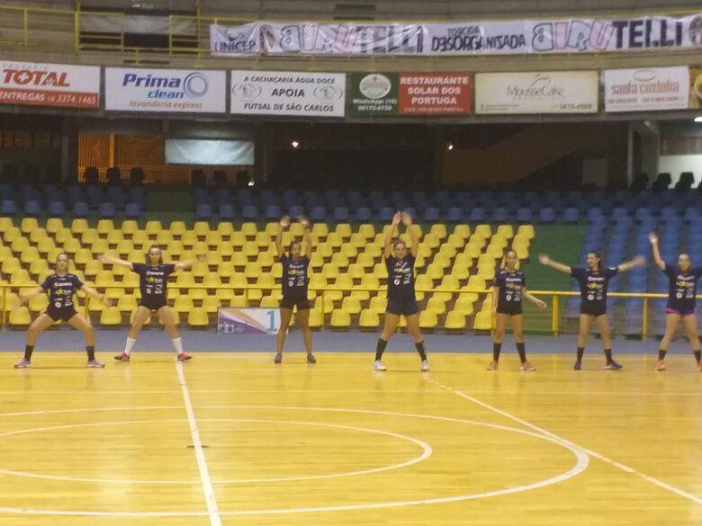Atletas durante treino no Olaio: aprimorar o condicionamento físico - Crédito: Marcos Escrivani