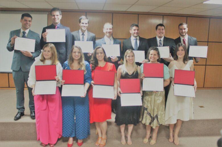 Essa é a quarta turma de especialistas formada pelo Departamento de Ensino do hospital - Crédito: Alessandra Kuba