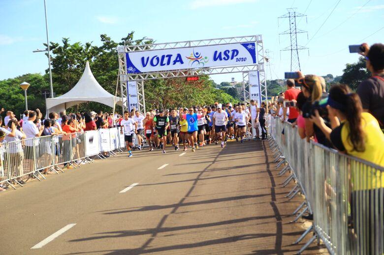Volta USP agita manhã de domingo em São Carlos - Crédito: Marco Lúcio