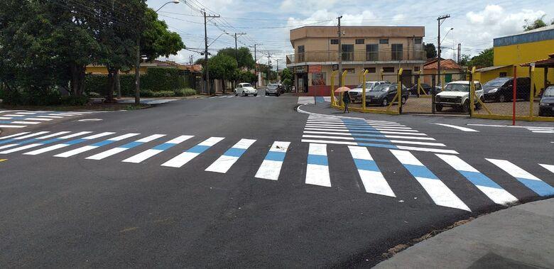 Rua Iwagiro Toyama está com nova sinalização - Crédito: Divulgação