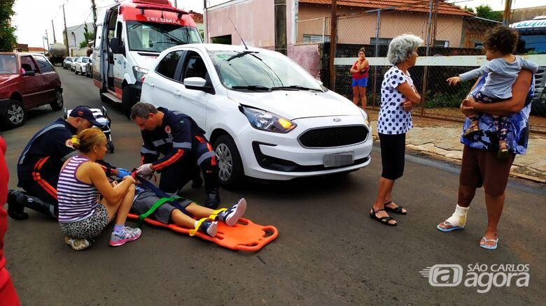 Menino de 7 anos é atropelado na Vila Lutfala - Crédito: Maycon Maximino