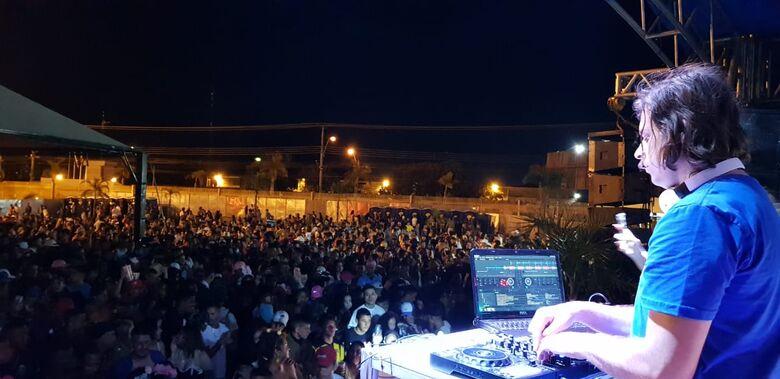 No Olaio, festa monitorada e milhares de foliões no domingo de Carnaval - Crédito: Divulgação