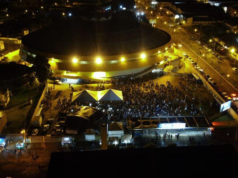 No Milton Olaio, foliões tiveram noites de tranquilidade - Crédito: Guarda Municipal