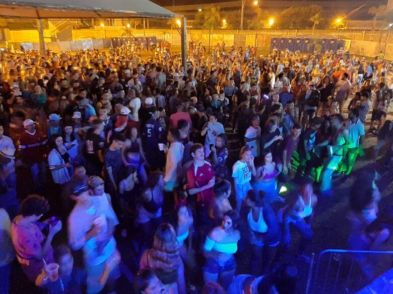 Com muita agitação, marchinhas na praça XV e 'pancadão' no Olaio encerram Carnaval em São Carlos - Crédito: Divulgação