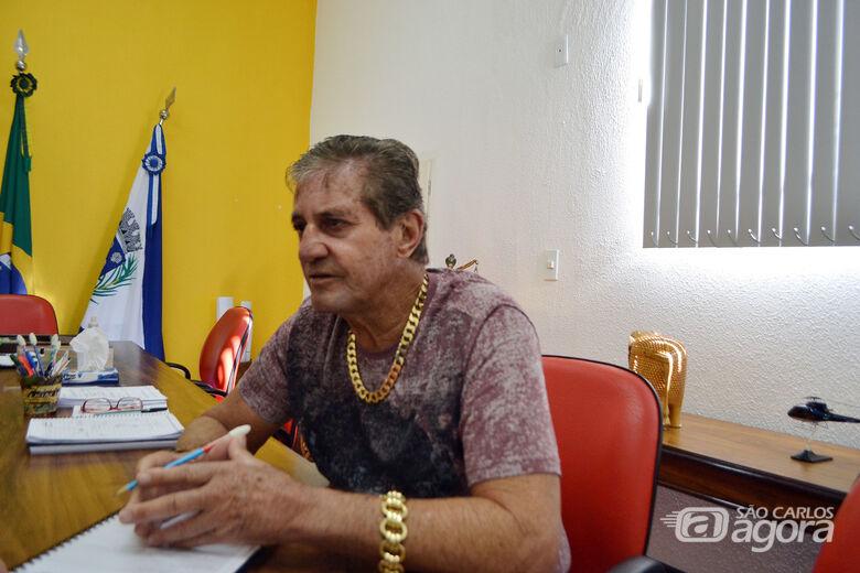Zé Parrella, Prefeito de Ibaté - Crédito: Arquivo/SCA