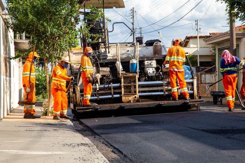 Confira a rua que vai ser recapeada nesta terça-feira - Crédito: Divulgação
