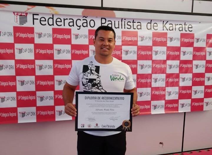 Adriano Wada é técnico da seleção paulista e tem equipe em São Carlos - Crédito: Divulgação
