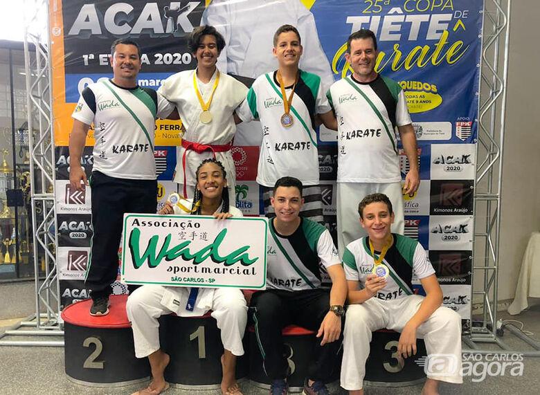 Equipe Wada inicia temporada com vitórias - Crédito: Divulgação