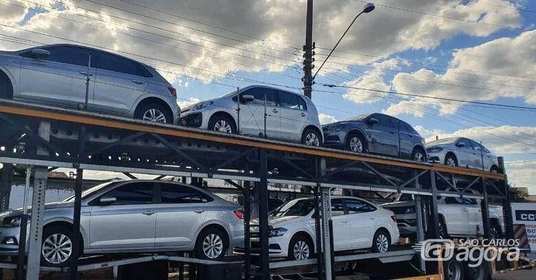 Volkswagen cede 18 veículos para o combate ao coronavírus em São Carlos - Crédito: Divulgação