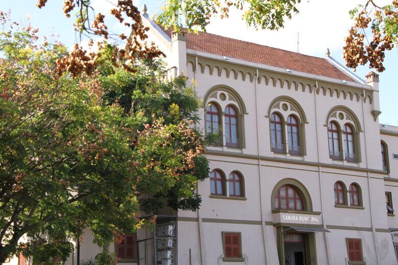 Edifício Euclides da Cunha sediará ciclo de debates sobre drenagem urbana no município a partir desta segunda-feira - Crédito: Divulgação