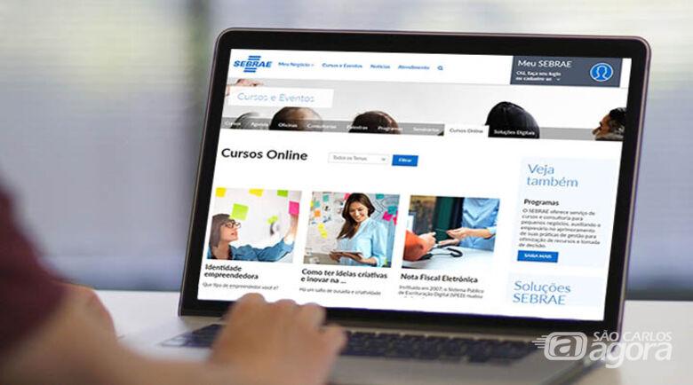 Sebrae-SP oferece 117 cursos online gratuitos - Crédito: Divulgação