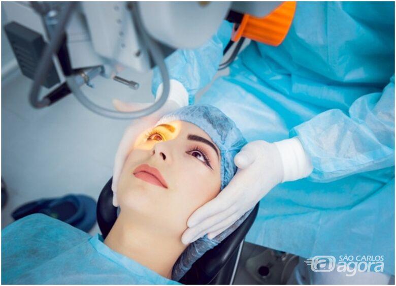 Laser em oftalmologia e os trabalhos científicos que beneficiam a sociedade - Crédito: Divulgação