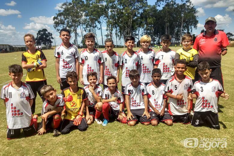 Sub11 do Salesianos fez bonito em torneio realizado em Araraquara - Crédito: Divulgação
