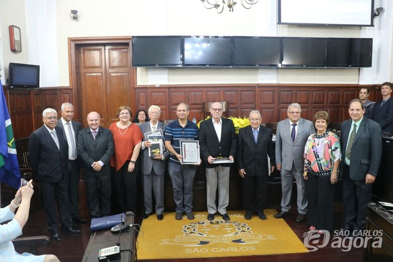 Em sessão solene, Câmara Municipal celebra os 50 anos da UFSCar - Crédito: Divulgação